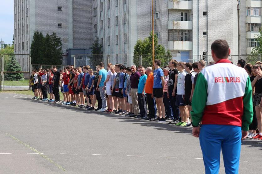 Спортивный день механико-технологического факультета, посвящённый дню факультета, прошел в ГГТУ 1