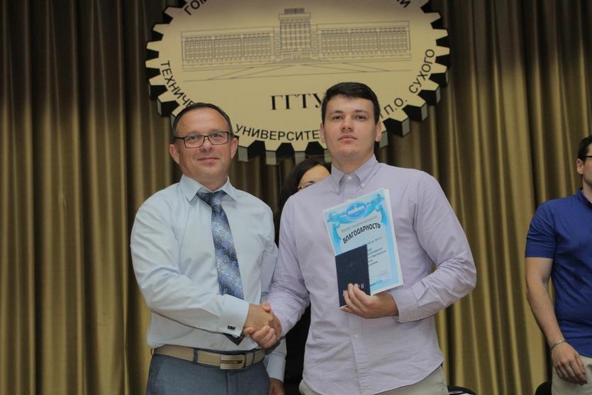 Вручение дипломов на механико-технологическом факультете ГГТУ имени П.О.Сухого 5