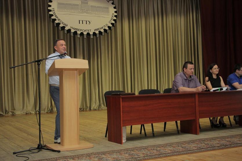 Вручение дипломов на механико-технологическом факультете ГГТУ имени П.О.Сухого 1