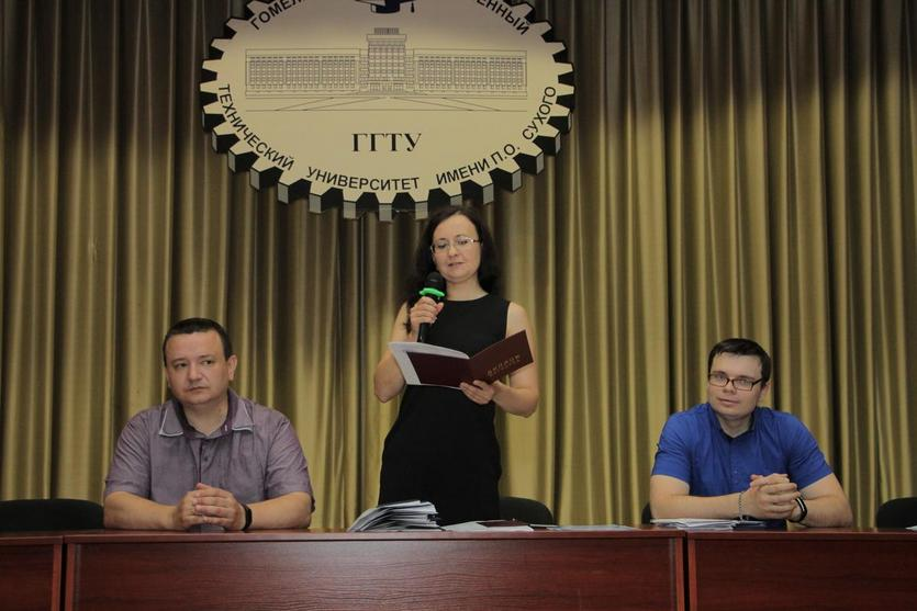 Вручение дипломов на механико-технологическом факультете ГГТУ имени П.О.Сухого 3