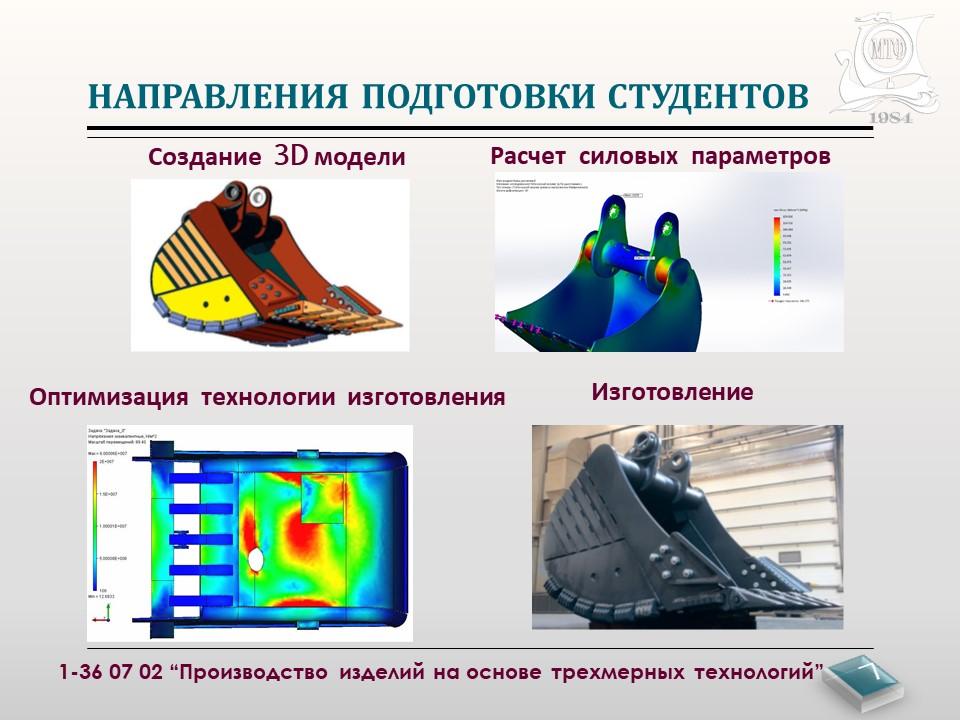"""Инженер - профессия будущего! Специальность """"Производство изделий на основе трехмерных технологий"""" 7"""