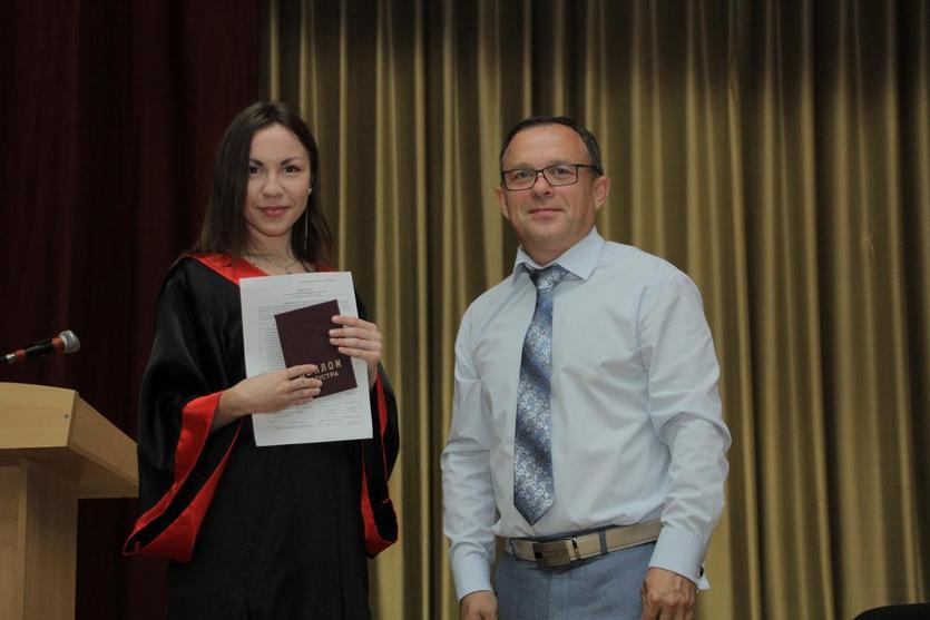 Вручение дипломов на механико-технологическом факультете ГГТУ имени П.О.Сухого 7
