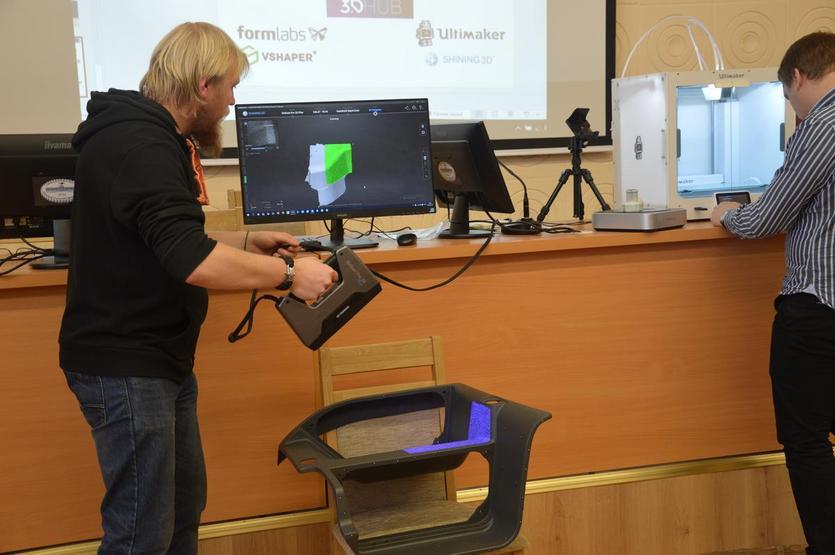 В ГГТУ имени П.О.Сухого прошел региональный научно-технический семинар «3D-Технологии реверс инжиниринга и быстрого прототипирования» 7