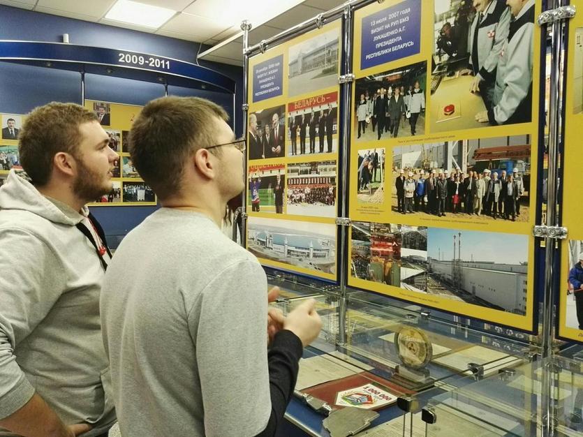 Студенты МТФ посетили БМЗ 5